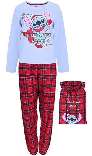 Pijama a Cuadros + Bolsa Lilo & Stitch...
