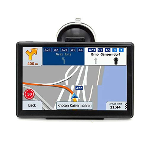 LAYDRAN Truck GPS Navigation System, 7 inch HD Portable Lorry SAT...