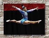 Zero.o Simone Biles Sport-Poster in Standardgröße, 45,7 x
