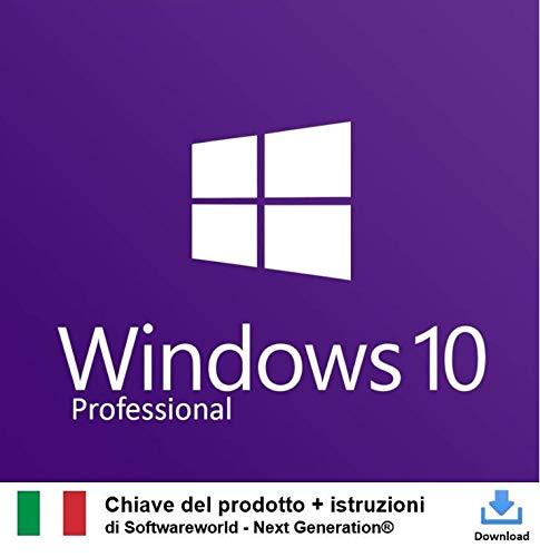 Chiave di attivazione di Windows 10 Pro a 32 bit e 64 bit + istruzioni da Softwareworld - Next Generation®