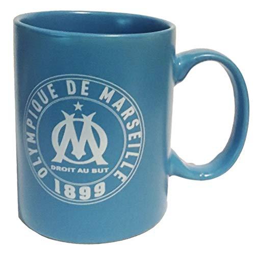 Mug OM logo vintage bleu mat nu