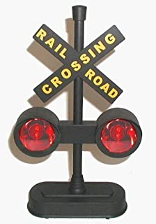 Hayes 15887 Railroad Train / Track Crossing Sign with Flashing Lights and Sounds