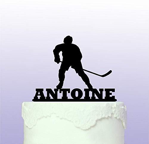 Personalisierbare Eishockey-Dekoration für Hochzeit, Geburtstag, Party, Abschlussfeier, Taufe