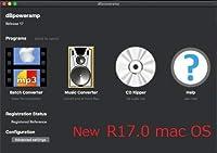 dBpoweramp R17.4 MacOS Big Sur 11.2 Intel & M1 ネイティブ対応
