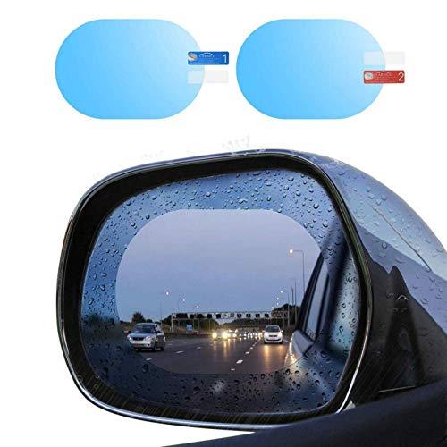 Mrcartool Adesivo Antipioggia Specchietto, 2 Pack Pellicola Antipioggia Auto, Pellicola specchietti Auto per Specchietti Retrovisori per Auto e Finest