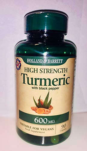 Holland and Barrett Organic High Strength Turmeric with Black Pepper