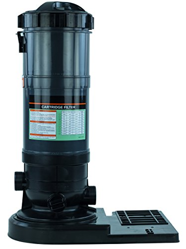Rx Clear Radiant Cartridge Pool Filter for Above Ground Swimming Pools | PRC90 | Pools up to 40,000 Gallons | Energy Efficient | Corrosion Proof | Filter Cartridge Included