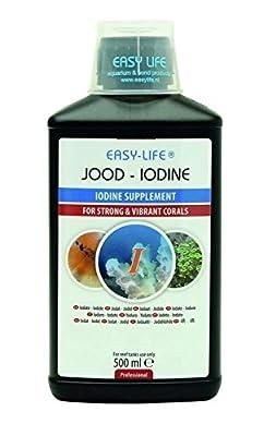 Easy Life Iode Traitement de l'eau pour Aquariophilie 500 ML