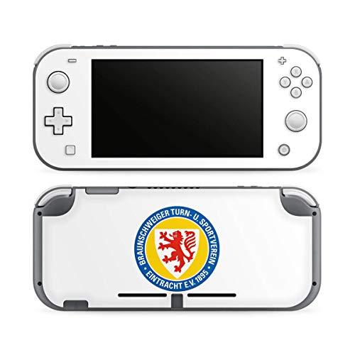 DeinDesign Skin kompatibel mit Nintendo Switch Lite Folie Sticker Offizielles Lizenzprodukt Eintracht Braunschweig Wappen