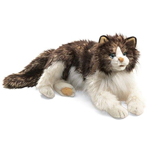 Folkmanis Puppets 2558 - wuschelige Katze