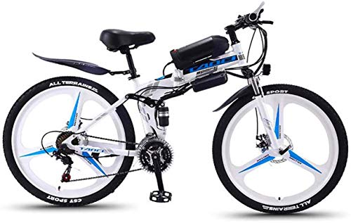 Bicicletas Eléctricas, Bicicleta de montaña eléctrica adulta plegable, bicicletas de nieve de...