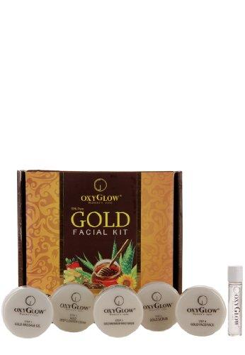 Gold Care de Oxyglow Nature Kit Visage, Sérum Peau Pour supplémentaire Douceur & Shine