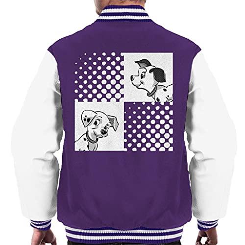 Disney 101 Dalmatians Rolly and Lucky Men's Varsity Jacket