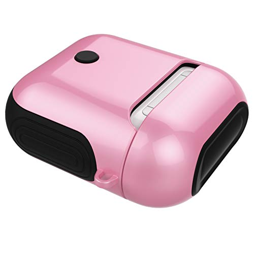 Ruiyoupin Compatibel met Apple AirPods Cover, AirPods beschermhoes van siliconen + PC Protective Viso Liscio Case licht stofdicht AirPods Cover schokbestendig TPU - Werkt draadloos opladen