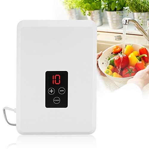 Boquite Generador de ozono, 400mg/H Aire Purificador de Agua Esterilizador Frutas Verduras Ozonizador de esterilización - Eliminar cuerpos extraños Invisibles - para Frutas y Verduras(EU Plug)