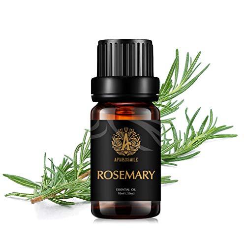Aphrosmile Rosmarin Ätherisches Öl - 100% Reines Rosmarin Öl, Ätherisches Aromatherapie Öl in Bio-QualitÄt, 10 ml/0,33 Unzen