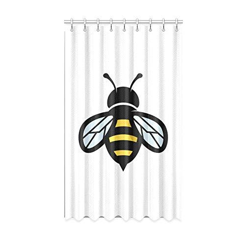 N\A Enfants Fenêtre Rideaux Travailleur Honnête Brave Little Bee Cool Rideaux pour Windows 50 X 84 Pouce Une Pièce pour Patio Coulissant Porte en Verre/Chambre