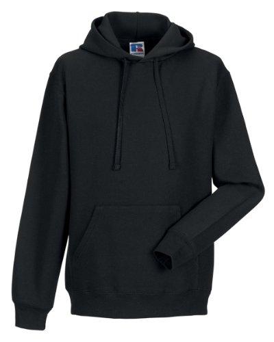 Russell Hooded Sweatshirt ColourBlack SizeL