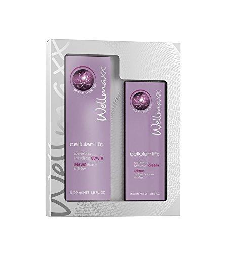 Wellmaxx cellular lift Duo Serum + Crème contour des yeux