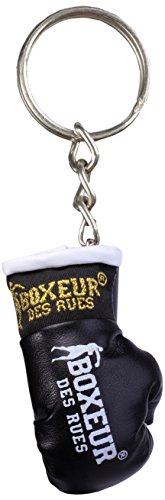 BOXEUR DES RUES Unisex– Erwachsene BX-GK01A Schlüsselanhänger Boxhandschuhe, Schwarz, U
