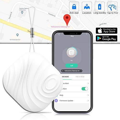 Schlüsselfinder Key Finder - Luxsure Nut 3 Anti-Lost Bluetooth Mini Wireless Tracker für Schlüssel Handy Wallet Pet Geldbörse Gepäck Locator mit App-Steuerung Erinnerung für iPhone IOS Android