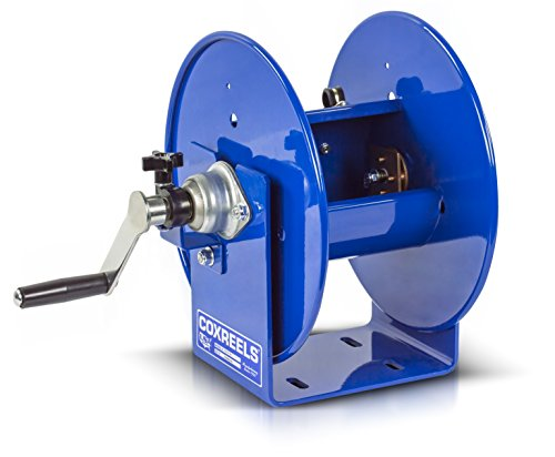 Coxreels 112WCL-6-01 Welding Hand Crank Cable Reel for #1 AWG Cable, 150' Cable Capacity, No Cable