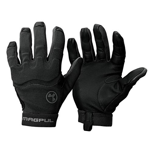 Magpul Patrol Glove 2.0 Lightweight Tactical Leather Gloves, Black, X-Large