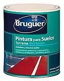 PINTURA SUELO POROSO BRUGUER INTERIOR. EXTERIOR TERREN VERDE 24008533 750 ML