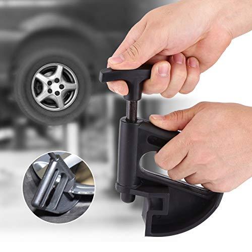 Abrazadera para cambiador de neumáticos, nueva abrazadera de cuentas de mano de obra fina de alta calidad, fácil de operar, fácil de instalar para el trabajador de mantenimiento de