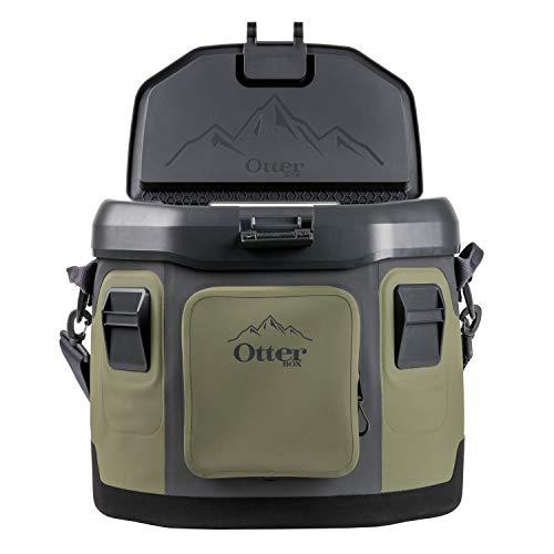 OtterBox Trooper Cooler 20 Quart - Alpine Ascent (Green/Black/Orange)