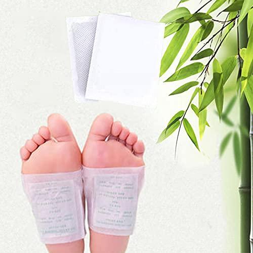 30 Stuck Detox Fußpflaster Pads Fusspflaster Entgiften Entgiftung lindern von schmerzen und Verbesserung vom Schlaf Gesundheitspflege, Schmerzlinderung, Fußpads zum Entfernen von Körpergiften