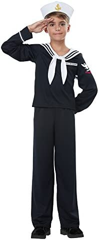 California Costumes Boys Navy Sailor Boy Child Costume product image