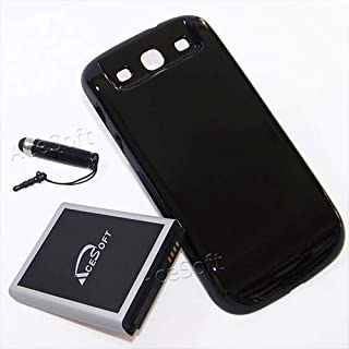 7300mAh Extended Life Battery+Back Hard Door Cover for Samsung Galaxy S III s3 i9300 R530M R530C Phone