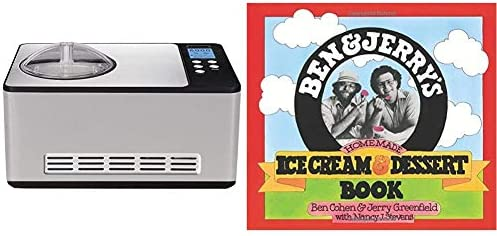 Whynter Stainless Steel ICM 200LS Automatic Ice Cream Maker 2 Quart Capacity Built in Compressor product image