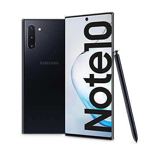 Samsung Galaxy Note10 Enterprise Edition, Smartphone, Display 6.3  Dynamic AMOLED, 256 GB Espandibili, RAM 8 GB, Batteria 3500 mAh, 4G, Dual SIM, Android 9 Pie, Nero