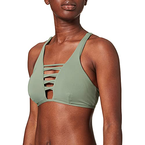 Sylvie Flirty Swimwear Damen Bikinioberteil Benita, Grün (Adventure 3720), 38B (Herstellergröße: 80B)