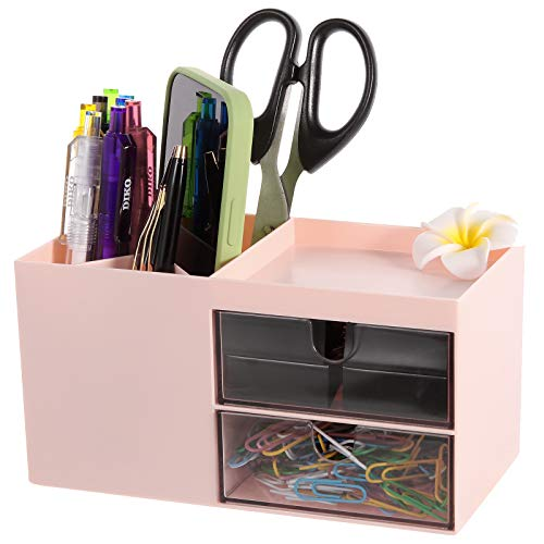 Pen Holder, Office Desk Organizer, and Accessories,Multi-Functional Pencil Cup, Pencil Holder...
