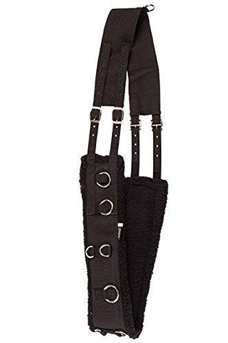 HKM 548656 Sangle de Longe – Soft, S, Noir