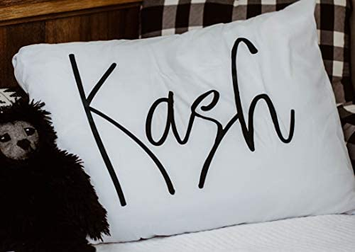 Personalized Add Your Name Pillowcase Pillow Case Custom Gift for Kids for Toddler for her for product image