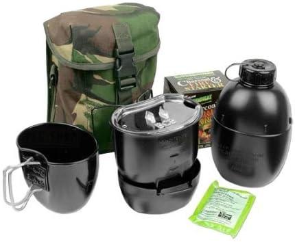 Bushcraft BCB - Hornillo para acampada, color negro, talla UK ...