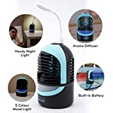 ZAAHN Ultra Chill Deluxe Personal Cooler and Humidifier | Compact and Portable |