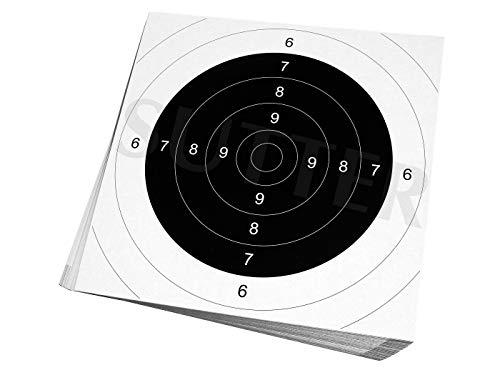 SUTTER Pack de 50 cibles - 26x26cm