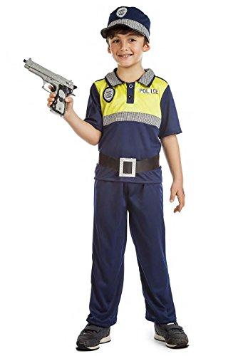 Disfraz Polica Local 3-4