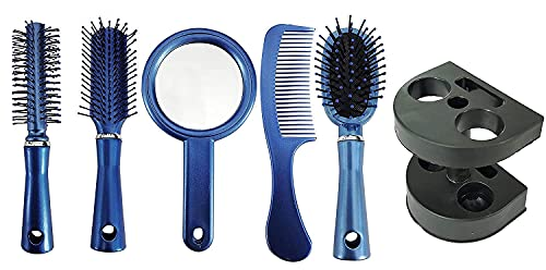 AASA Hair Brush Combo for Women and Men, Professional Use Hair Styling Brushes Kit