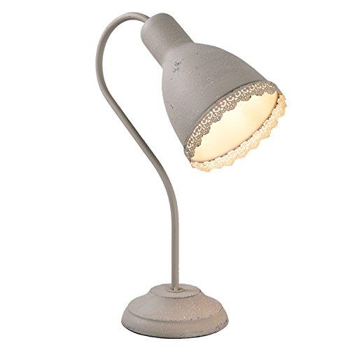 Clayre & Eef 6LMP554G bureaulamp 13 * 28 * 38 cm / E27 / max 1 * 15 W