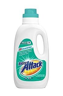 Biozet Attack Regular Laundry Liquid Detergent, 1 liters (B08F58TMHH)   Amazon price tracker / tracking, Amazon price history charts, Amazon price watches, Amazon price drop alerts