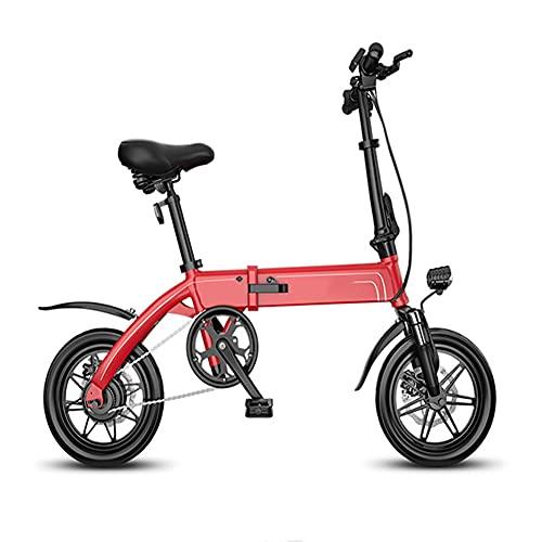 NKOU Scooter de Movilidad eléctrica Plegable con Motor 250W, Mini Bicicletas eléctricas con 3 Modos de equitación y Sistema de recuperación de energía, Bicicleta eléctrica a Prueba de Agua