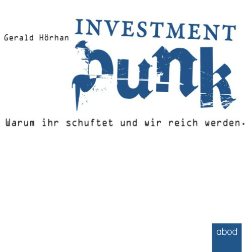 Investment Punk audiobook cover art