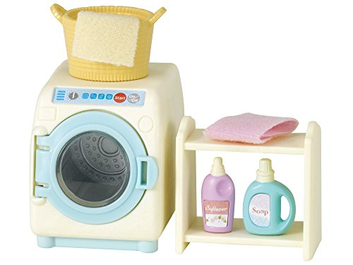Sylvanian Families- Washing Machine Set Mini muñecas y Accesorios, Multicolor (Epoch para Imaginar 3565)