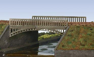 Wills SS26 wiktoriański mostek. Tylko boki mostka, użyj SS64 do przyczółków